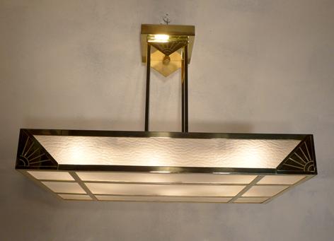 Luminaire Art Deco